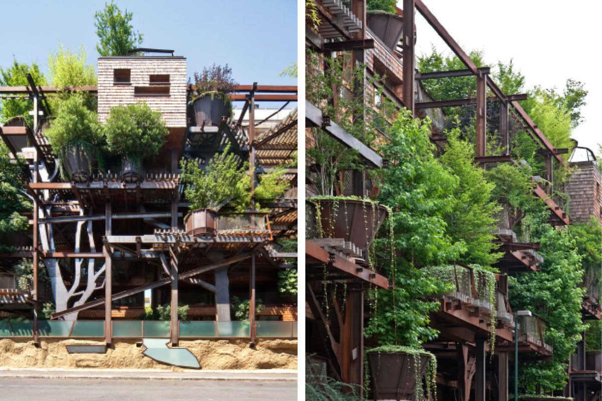 25 verde la casa sull albero di torino urbanatures - Casa delle lampadine torino ...